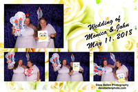 Monica & John's- Photo Booth Photos